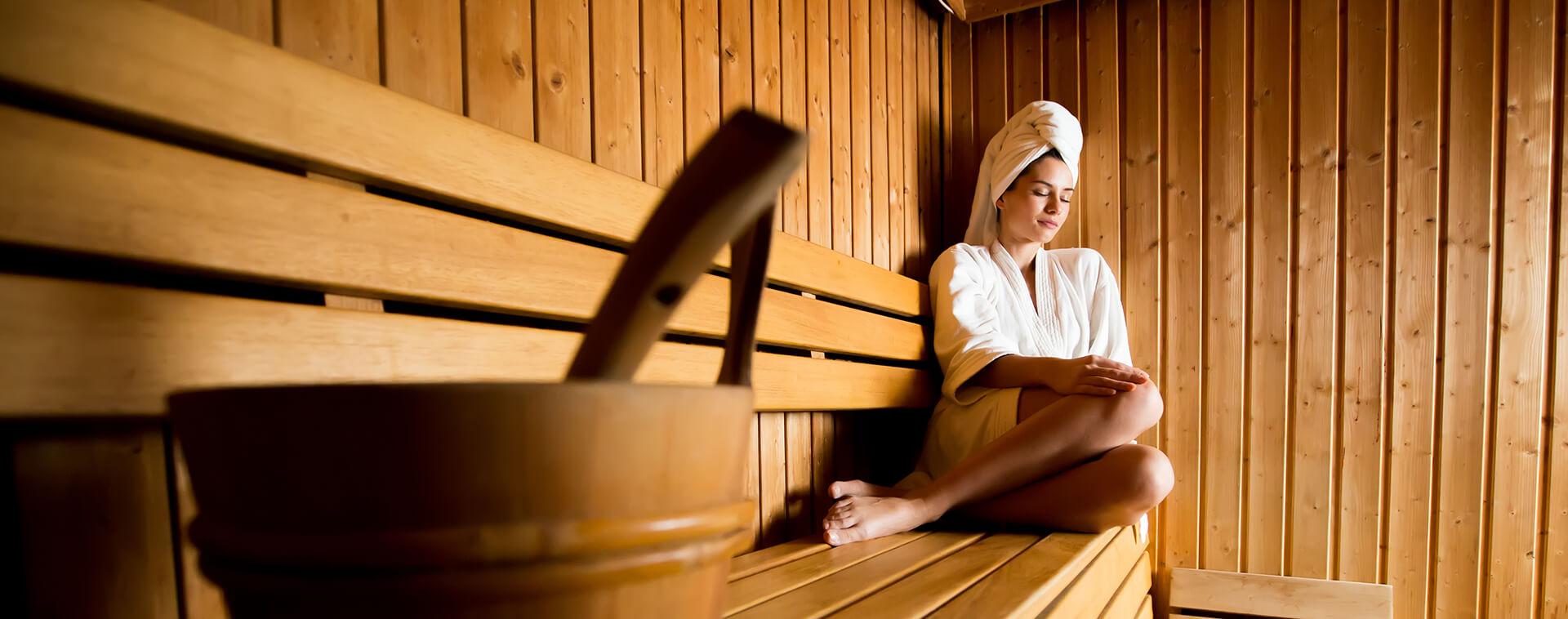 Bezoek een van onze sauna's