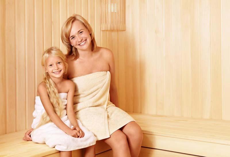 sauna-kinderen